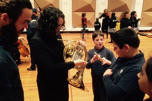 Deaf Students make music with Melbourne Symphony Orchestra
