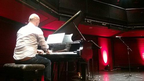 Danny rehearsing at Sage